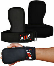 AQF Gel Weight Lifting Gym Straps Glove Grips Wrist Palm Support Lift Training