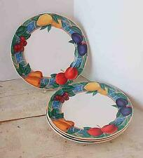 VICTORIA AND BEALE FORBIDDEN FRUIT 9024 DINNER PLATES-SET OF 4