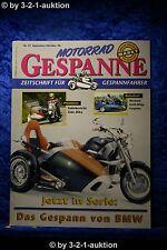 Motorrad Gespanne Nr.47 5/98 Hechard Gold Wing Gespann von BMW