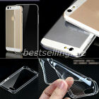 Thin Transparent 0.3mm Soft Silicone TPU Case Cover For iphone 4/4s/5/5s/6 Plus