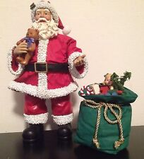 1999 Possible Dreams Clothtique Santa 'A Gifted Fellow' Mint In Box 713199
