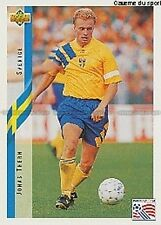 N°071 JONAS THERN SWEDEN TRADING CARDS UPPER DECK WORLD CUP USA 1994