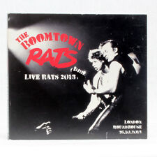 The Boomtown Rats - Live rats 2013 London Roundhouse - musica cd album X 2