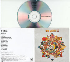 FTSE Joyless 2015 UK 11-trk numbered/watermarked promo test CD grey artwork