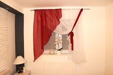 White Voile Net Curtain Ready Made Bedroom 150x300 cm Living Room New