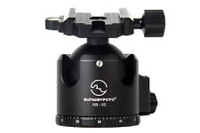 SUNWAYFOTO XB-52 Low Profile Tripod Ball Head Arca Swiss RRS Compatible 60kg