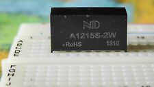 12V to dual 15V dc-dc power supply module A1215S-2W