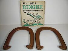 2 OLD VINTAGE 1960s THE RINGER PROFESSIONAL HORSE SHOES RINGER A IN ORIGINAL BOX