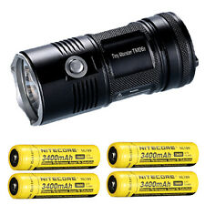 Nitecore TM06S Flashlight XM-L2 U3 LED -4000 Lumens w/4x NL189 Batteries