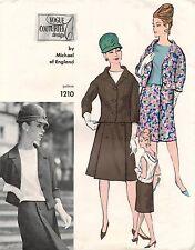 60's VTG VOGUE COUTURIER DESIGN Suit and Blouse  Michael  Pattern 1210 14 UNCUT