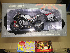 1:12 MINICHAMPS YAMAHA MOTOGP VALENCIA 2005 V. ROSSI FREE SHIPPING WORLD WIDE