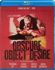That Obscure Object of Desire (Cet obscur objet du desir) Blu-ray + DVD NEW