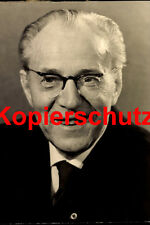 A38 Ministerpräsident der DDR Otto Grotewohl SED SPD Foto 20x30 cm
