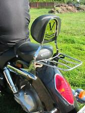 SISSY BAR PASSENGER BACKREST + LUGGAGE RACK HONDA VTX 1800 VTX1800 RETRO