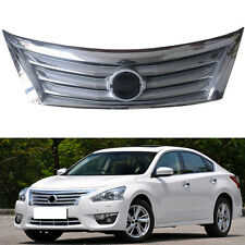 ABS+Chrome Front NEW Radiator Hood Grill Grille For Nissan Teana /Altima 2013-15