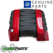 OEM NEW Engine Cover - V8 LS3 L99 - Crystal Red - GBE - 12-15 Camaro 12643077