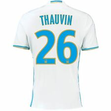 Adulte xl olympique de marseille home shirt 2016/17 thauvin 26 EB73