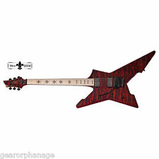 Schecter Jeff Loomis Cygnus JLX-1 FR See Thru Cherry STC LH NEW + Gig Bag Lefty