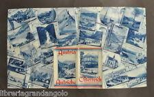 Brossura Austria Osterreich Viaggi Auto Montagna Salzburg Innsbruck Tirolo 1940
