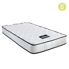 5 Star Pocket Spring Bed Mattress High Density Foam Medium Firmness Single 21cm