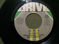 PETER BROWN FOR YOUR LOVE & DANCE WITH ME 1978 45 RECORD DRIVE 6269