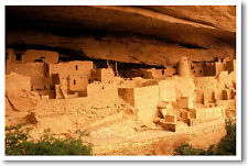 Anasazi Ruins - Southwest Native Americans - Classroom Social Studies NEW POSTER