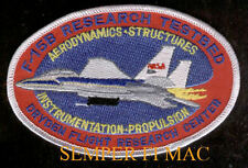 F-15 EAGLE RESEARCH DRYDEN TEST CENTER US AIR FORCE Patch USAF EDWARDS AFB PILOT