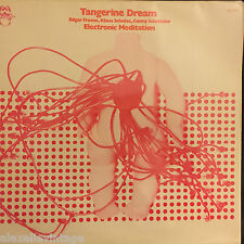 "LP 12"" 30cms: Tangerine Dream: electronic meditation. ohr. krautrock"