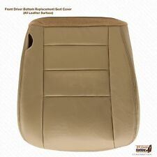2002 2003 2004 2005 Ford Excursion Limited Driver Bottom LEATHER Seat Cover Tan