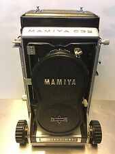 Mamiya C33 Professional Medium Format TLR 220 Film Camera 55mm Wide Angle Lens