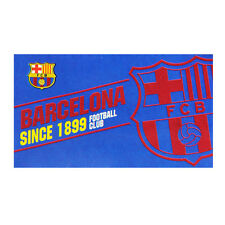 FC BARCELONA TEAM ESTABLISHED CLUB FOOTBALL FLAG FC - FCB LICENSED PRODUCT GIFT