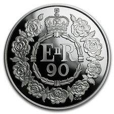 2016 Great Britain £5 Proof Silver Queen's 90th Birthday - SKU #97661