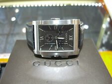 GUCCI 8600M CHRONOGRAPH  MENS WATCH MODEL YA086307 PRE-OWNED RETAIL $1,495