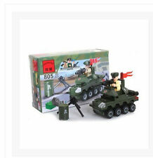 Toy building blocks 805 military small tanks