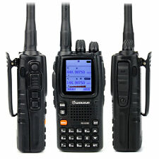 Walkie Talkie WouXun KG-UV9D Dual Band 999CH 5W Air Band 2-Way Radio Receiver bc