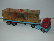 VINTAGE CORGI TOYS 1139 CHIPPERFIELD'S CIRCUS SCAMMELL MENAGERIE TRANSPORTER
