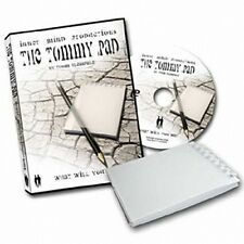Free shipping Tommy Pad ( DVD and Gimmick ) -- Magic/Mentalism Magic