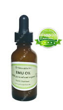 Emu Oil Pure Moisturizing For Face Skin Hair Stretch Marks Fully Refined 1 Oz