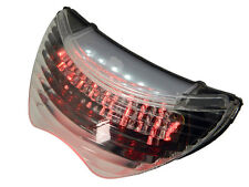 Clear Intergrated LED Turn Signals Tail Light For 1999-2000 Honda CBR600 F4