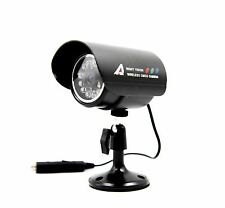 Wireless Security IR Camera (2.4GHz) with Power Supply. Channel Switchable Cam