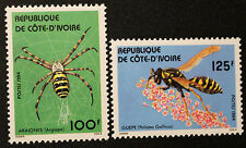 Timbre COTE D'IVOIRE / IVORY COAST Stamp - Yvert & Tellier n°681 & 682 n**(COT1)