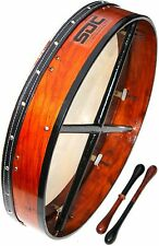 "DEURA 18"" TUNABLE BODHRAN with CASE $69.99 2 FREE BEATERS ----------"