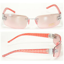 Men Women DG Eyewear Sunglass Designer Rimless Shades Small Tint Pink New 8009