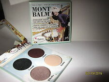 The Balm Mont Balm Eyeshadow Palette New in Sleeve Full Size