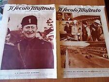 SECOLO ILLUSTRATO 19/1934 Varzi vince il Gran Premio di Tripoli, Marconi