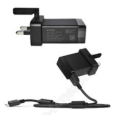GENUINE SONY UK MAINS CHARGER FOR SONY EXPERIA Z, EXPERIA Z1 ULTRA EXPERIA E1