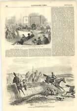 1856 CACCIA Schizzo EFFIGIE PREMIO MUCCA ATTORI benefici Dulwich College
