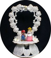 Nintendo Super MARIO Princess Wedding Cake Topper TOP Princess Peach groom top
