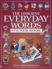 Everyday Words Sticker Book