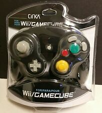 NEW Black CIRKA Controller Control Pad for Nintendo Gamecube or Wii Console